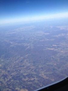 Cruising over the midwest