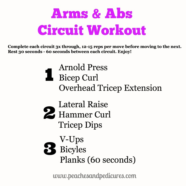 Arms & Abs Circuit