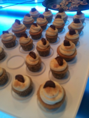 PB S'mores Cupcakes