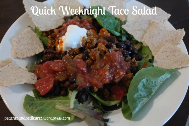 Quick Weeknight Taco Salad