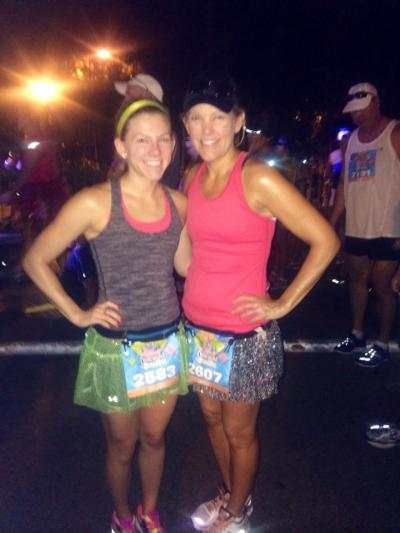 Before the disneyland half marathon