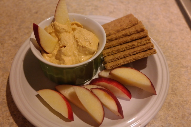 Greek Yogurt Pumpkin Dip