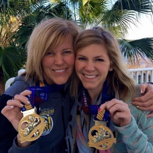 Disney Half Marathon Mother Daughter