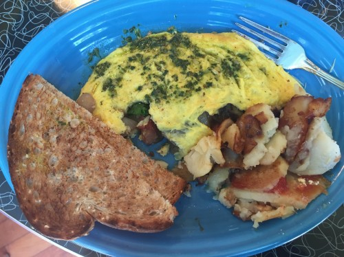 Good Morning Mama's Vegetarian Omelette